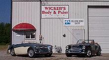 Wickerized Healey